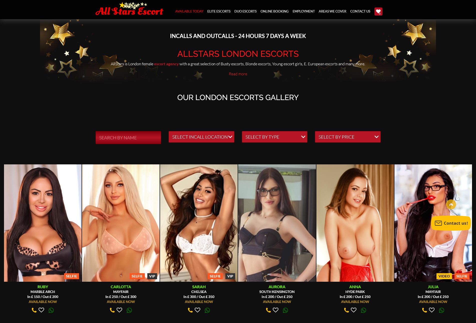 allstarsescorts.co.uk